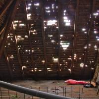 Sturm verwüstet Atelierhaus