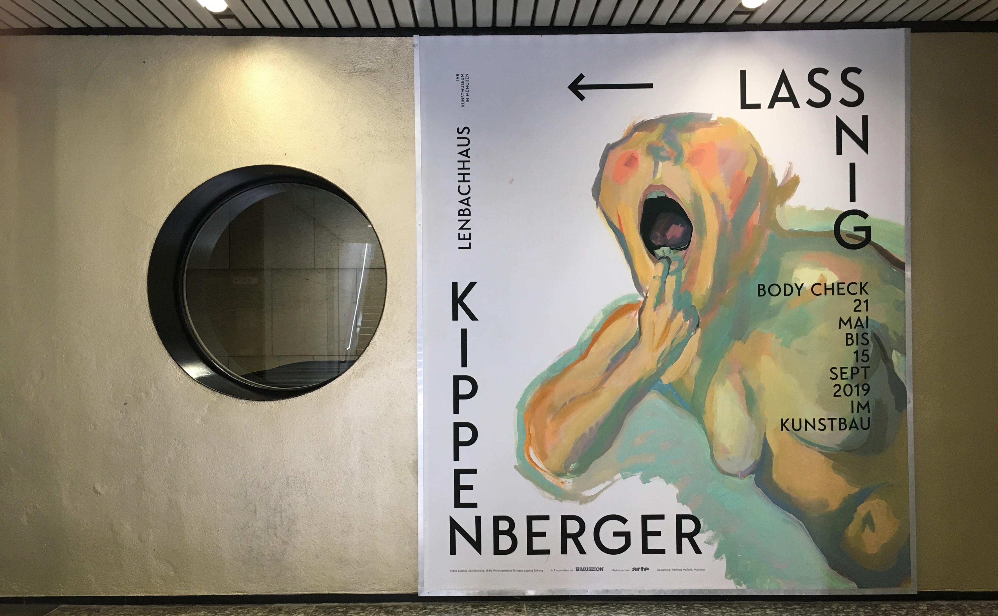 Ausstellung BODY CHECK. Martin Kippenberger – Maria Lassnig