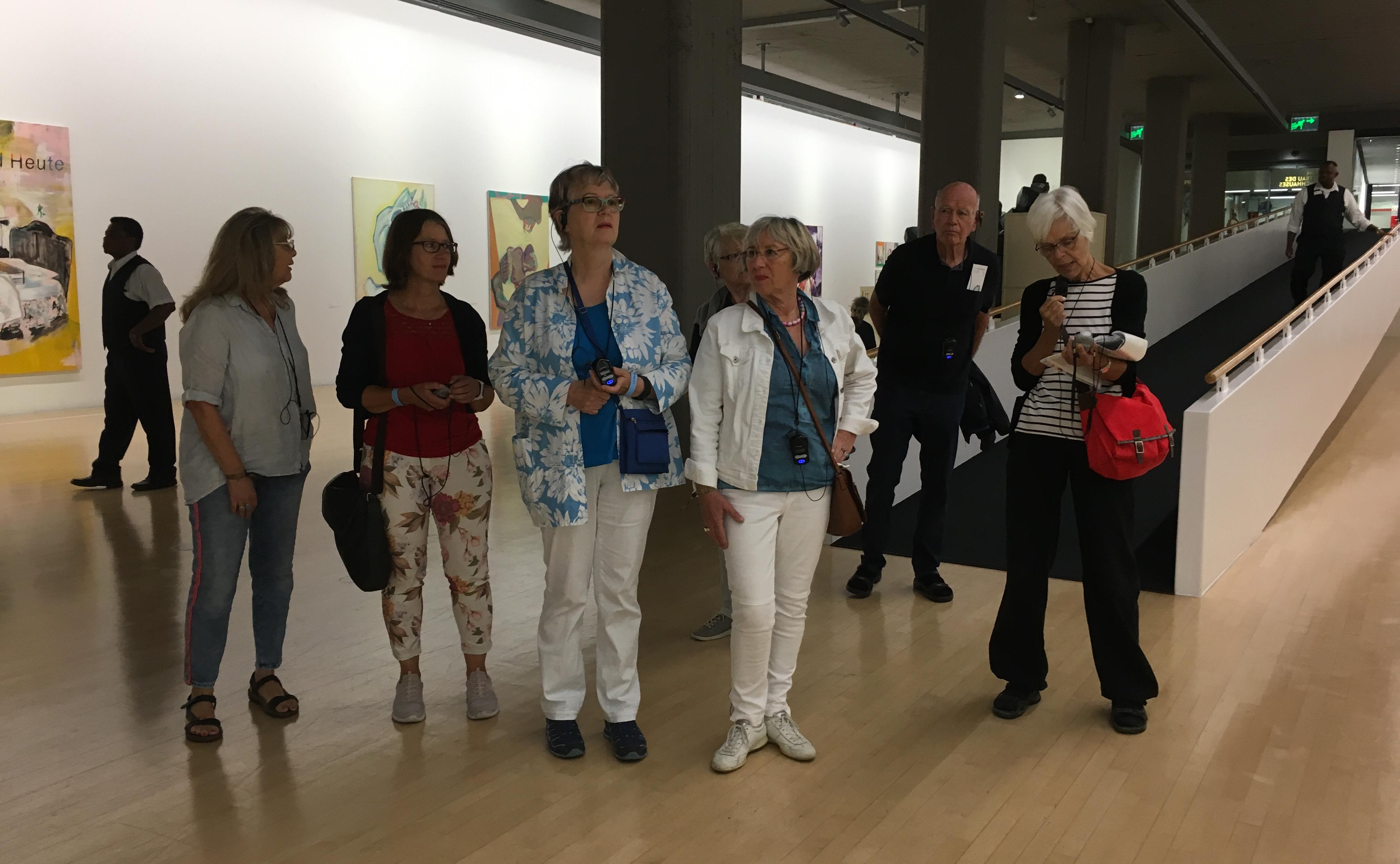 Ausstellungsbesuch von KKG-Mitglieder im Kunstbau des Lenbachhauses