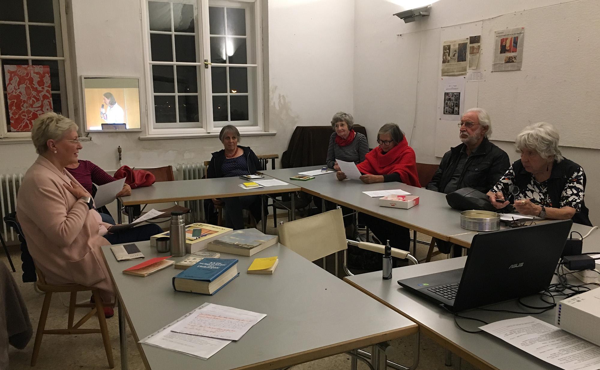 """Kunstkreis Themenabend zum thema """"Ästhetik in der Kunst"""""""
