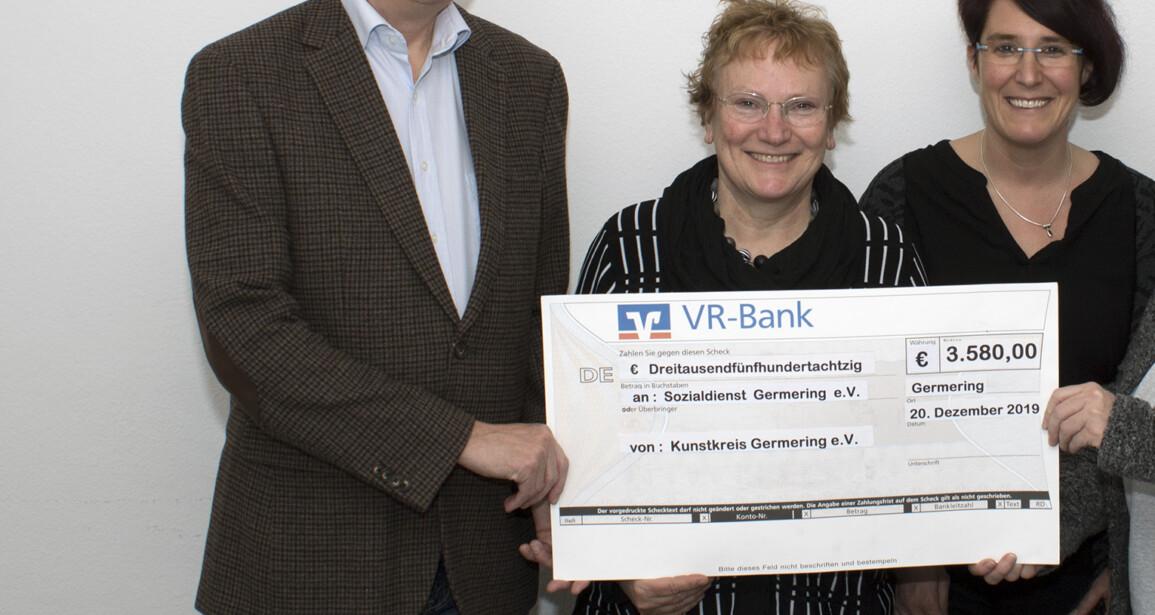 3580 Euro Jahresgaben für den Sozialdienst
