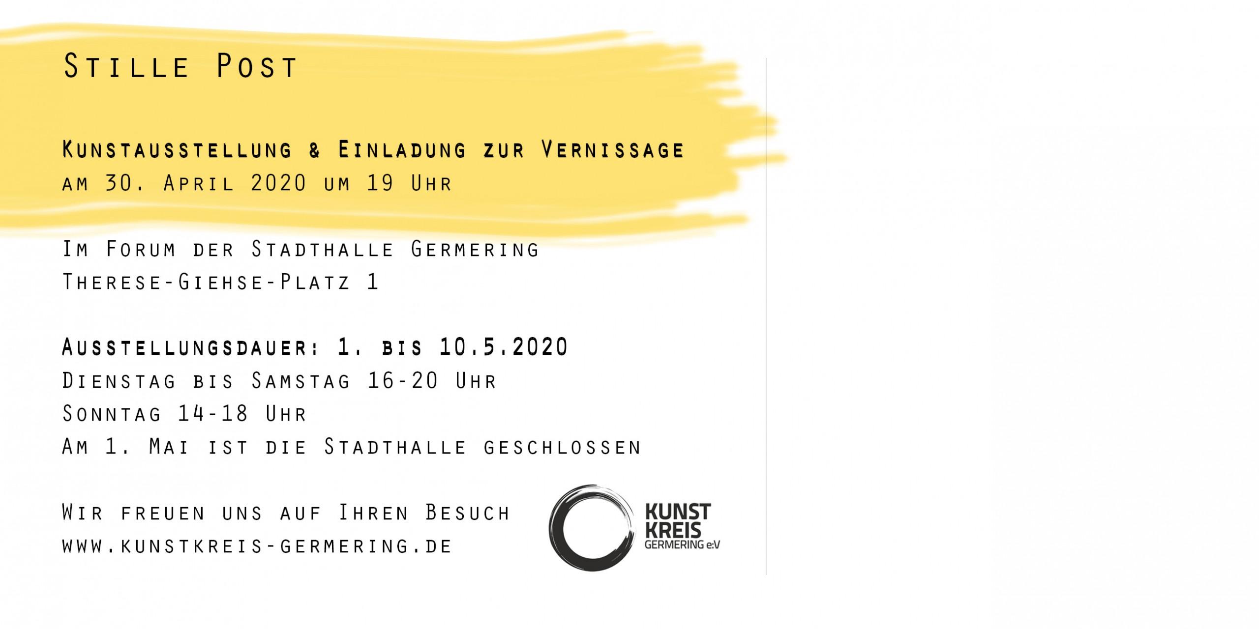 """Kunstkreis-Ausstellung """"Stille Post"""""""