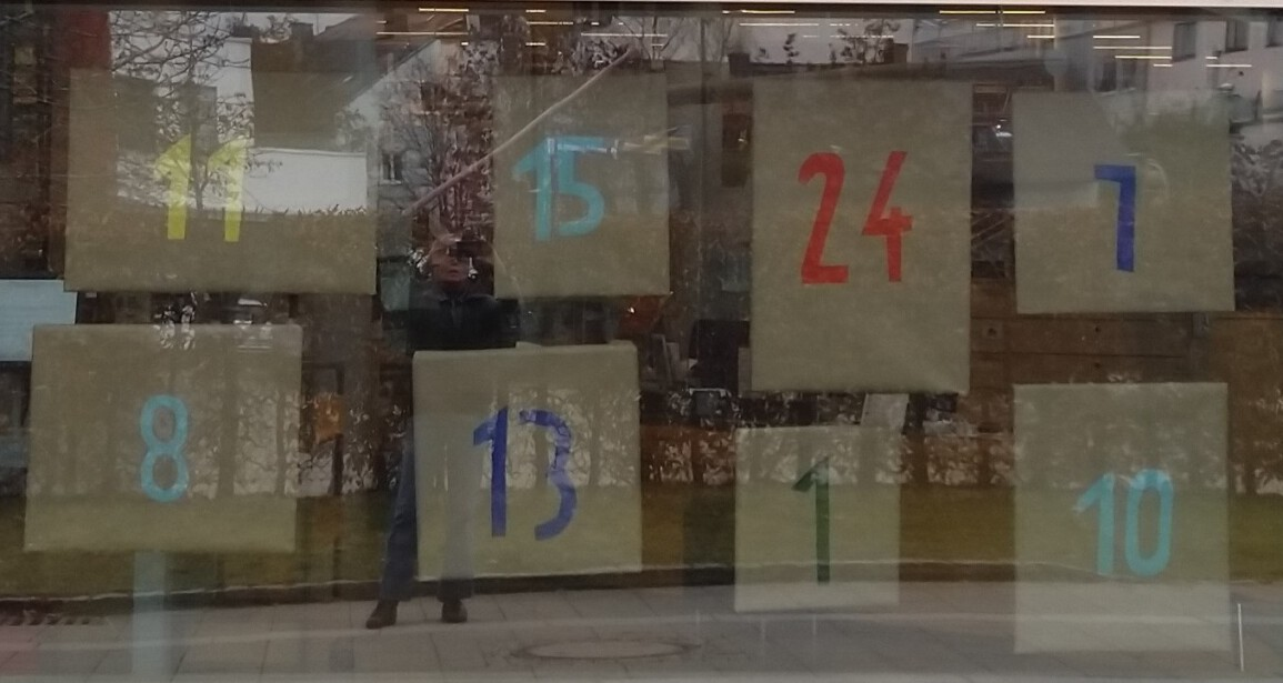 Adventskalender in der Stadtbibliothek Germering