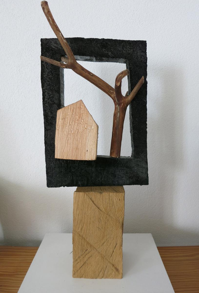 Skulptur Holz